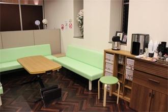 かづる鍼灸整骨院の待合室